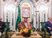 """بالصور.. رئيسي باكستان واليمن و مجلس الأمة الكويتي في ضيافة """"خادم الحرمين"""""""