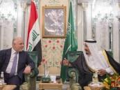 العراق: خادم الحرمين أكد للعبادي أن أبواب المملكة مفتوحة للعراق