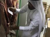 بالصور.. جولات ميدانية تضبط 117 كلغ لحوم فاسدة خلال العيد في الأحساء