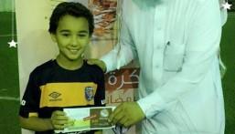 ضمن بطولة سداسيات كرة القدم بنادي حي الأمير سعود بن جلوي 4 فِرق تتنافس على الوصول لنهائي الكأس