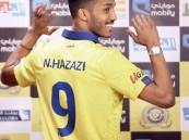 نايف هزازي مُغردًا: تم توقيع المخالصة مع #النصر ونأسف على القصور !