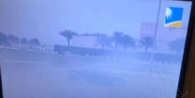 بالفيديو… سعودي يوثق شيء غريب أثناء رحلة للخطوط الحديدية !!