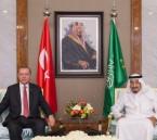 بالصور.. #خادم_الحرمين و #أردوغان يعقدان جلسة مباحثات ويبحثان تطورات الأوضاع الإقليمية