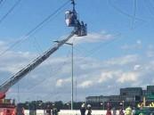 ألمانيا: إنقاذ 70 راكبا حوصروا في كبائن تلفريك فوق نهر الراين