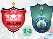 الأهلي يفرط في الفوز أمام بيروزي.. والسومة يعادل رقم سيموس