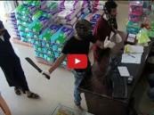 """شاهد.. تفاصيل القبض على 3 مقنعين سطوا على صيدلية بـ""""أحد المسارحة"""""""