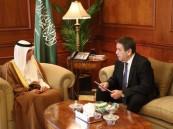 """وزير الخارجية """"عادل الجبير"""" يستقبل سفير روسيا لدى المملكة"""