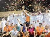 """فريق """"الأصيل"""" يحقق """"كأس نادي الحي"""" بالعيون في """"دوري زمان"""""""