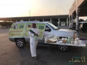 """""""ما لكم حل يا السعوديين"""" .. بالصور هكذا قابل مواطن حجاج الشعب القطري"""