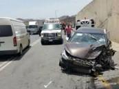 حالة وفاة وإصابة 27 آخرين… في حادثتين منفصلتين بالطائف