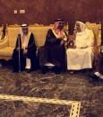 """بالصور .. سمو الأمير """"عبدالعزيز"""" بن محمد بن جلوي يُعزي أسرة """"الشعيبي"""""""