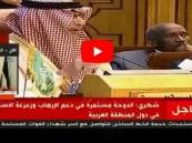 """شاهد.. مندوب قطر يصف إيران بـ""""الشريفة"""" و #أحمد_قطان : هنيئاً لكم وعما قريب ستندمون"""
