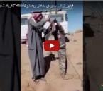 """بالفيديو… سعودي يخاطر ويصنع لأطفاله """"تلفريك شعبي"""" !!"""