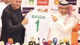 الأرجنتيني باوزا يوقع رسميًا عقد تدريب الأخضر