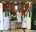 """بالصور.. """"مركز الأمير سلطان للقلب"""" يُدخل السرور على مرضاه بمناسبة """"اليوم الوطني"""""""