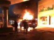 """حريق يقضي على """"4"""" من أسرة منقذ المحطة في الرياض..!!"""