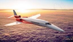 بالفيديو .. طائرة نفاثة تقطع 3 ساعات من نيويورك إلى لندن
