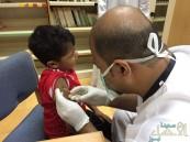 بالصور… صحة الأحساء تدشن حملة تطعيم طلاب وطالبات الصف الأول الإبتدائي