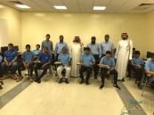"""ثانوية """"الملك خالد"""" تستطلع عن كثب على """"تعليم وعمل"""""""