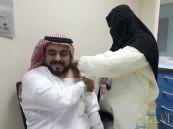 بالصور … تدشين حملة التطعيم ضد الإنفلونزا بمركز صحي العيون