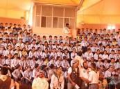 بالصور … اكثر من 400 كشاف في حفل القبول والانتقال الكشفي في #الأحساء