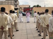 """""""مدير تعليم"""" الأحساء يدشن مشروع """"مهن"""" بثانوية """"الملك خالد"""" بالهفوف"""