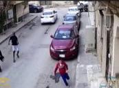 أخيرا.. ضبط حامل الساطور الذي حاول خطف طفلي الرياض (فيديو)