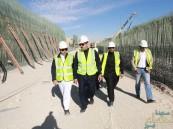 """بالصور.. إتمام 90 % بمشروع جسر الـ 1800 متر والأعمال متواصلة لانجاز """"نفق الظهران"""""""