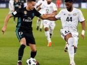 ريال مدريد يتأهل بصعوبة بفوزه على الجزيرة الإماراتي