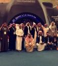 """بالصور… """"إعلاميو الأحساء"""" في زيارة لملتقى """"ألوان السعودية"""" بالرياض"""