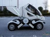 شاهد.. سيارة يابانية قابلة للطي !