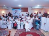"""بالصور.. عائلة """"اللويم"""" و""""الحربي"""" تحتفل بتكريم 85 طالب وطالبة"""