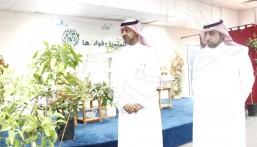 """ثانوية """"سعد بن عبادة"""" تفتتح معرض """"الأشجار المثمرة"""""""
