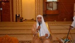 """الشيخ خالد """"العبدالكريم"""" يزور مسابقة """"قبس"""" للقرآن والخطابة"""