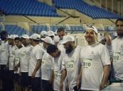 بالصور.. صحة الأحساء تقيم سباق للمشي في مدينة الأمير عبدالله بن جلوي الرياضية