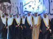 بالصور.. ثانوية الملك خالد بالهفوف تزف الدفعه الـ 42 من طلابها