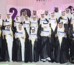 """بالصور… إبتدائية الأمير محمد بن فهد بن عبدالعزيز آل سعود تزف """"123خريجاً"""""""