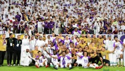 بالصور .. العين يحسم لقب الدوري الإماراتي قبل نهايته بجولة واحدة