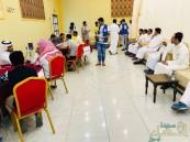بالصور.. 393 متبرع بالدم في حملة بني معن