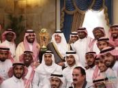 أمير مكة يستقبل مجلس إدارة نادي الاتحاد واللاعبين