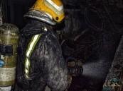 إصابة 3 أشخاص في حريق اندلع بمبنى في الدمام