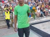 العداء أحمد خضر يحقق ذهبية سباق الجائزة الكبرى لمسافة 110 متر حواجز بالتشيك