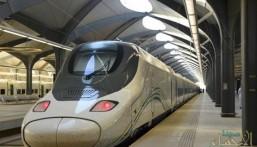 """بالصور .. """"قطار الحرمين"""" ينطلق من المدينة المنورة الى مكة كأول رحلة تجريبية مجانية للمواطنين"""