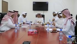 هجر: اجتماع إداري لمناقشة نتائج الفرق والألعاب المختلفة