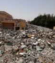 """شاهد ما آل إليه """"شارع الماجد"""" في الأحساء … كالعادة توقف المقاول والمواطن هو المتضرر الوحيد !!"""