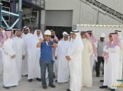 أمين الأحساء في زيارة لمشروع شركة الخليج للحجر الطبيعي