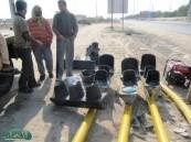 إدارة النقل ومرور الأحساء يضعان حداً لحوادث مدخل بلدة الكلابية بتركيب إشارة ضوئية  .