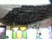 سقوط سقف في روضة بلدة الرميلة يخلي 90 طفلاً أصيبوا بحالة من الرعب .