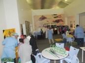 ( 40 )ألف زائر لجناح الصناعي الثالث في ( 20 ) يوم بمهرجان أرامكو الثقافي بالأحساء.