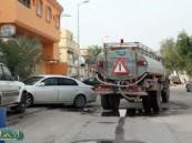 تسربات المياه تضعف تدفقها لمنازل المواطنين في راشدية المبرز .